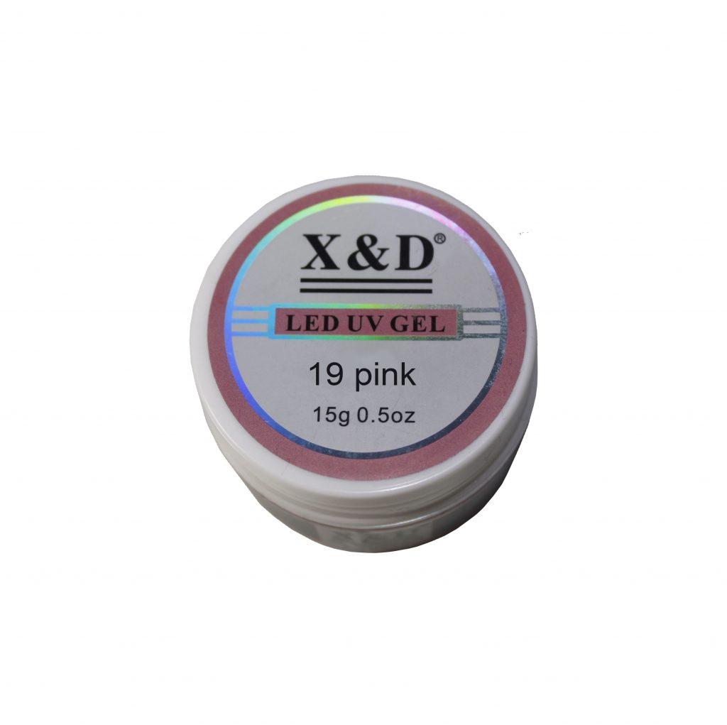 Gel LED UV - Pink Nude - 15g - X&D | Manicure Shop