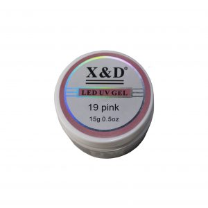 Gel LED UV – Pink 19 – 15g – X&D