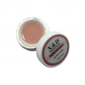 Gel LED UV – Pink Nude – 15g – X&D