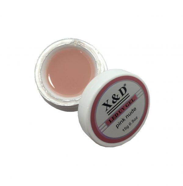 GEL XeD UV LED PINK NUDE 15g - Mercado das Unhas