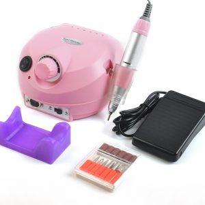Lixadeira Elétrica – Porquinho Rosa 30.000 Rpm -Nail Drill