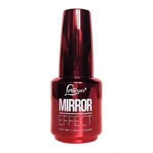 Esmalte Efeito Metalizado – 10 Red – 15ml -Mirror