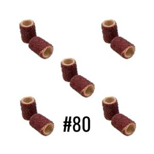 Lixa Para Mandril – 80 – 10Un