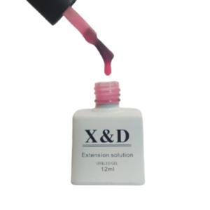 Gel Extension Solution 001 – Com Pincel – 12ml – X&D