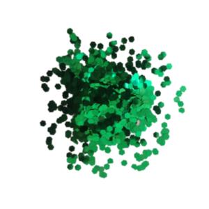 Paetê Verde – 3mm – 3g