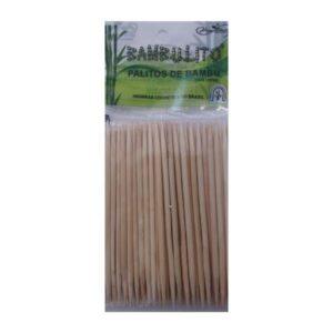 Palito De Bambu – Ponta Dupla 12cm – 50un – HigiBeauty