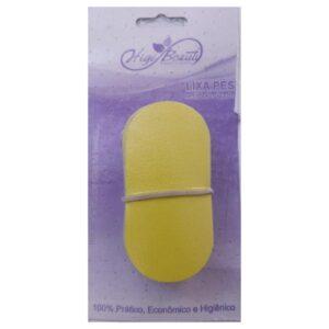 Refil Adesivado Lixa Para Pés – Amarela – 50un – HigiBeauty