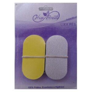 Refil Adesivado Lixa Para Pés – Amarela E Branca – 50un – HigiBeauty