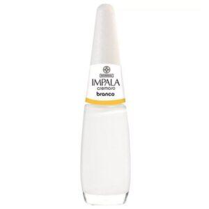 Esmalte Cremoso – Branco – 7,5ml – Impala
