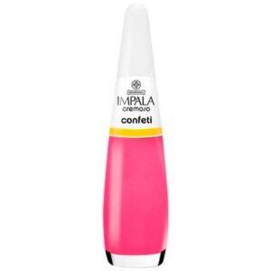 Esmalte Cremoso – Confeti – 7,5ml – Impala