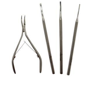 KIT Instrumentos Espícula – 4 Itens – Slim