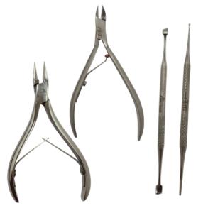KIT Instrumentos Pedicure Básica – 4 Itens – Slim