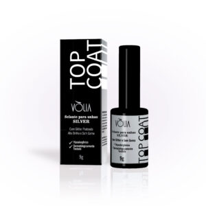 Top Coat SILVER- 9 Ml – Vòlia