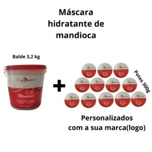 Kit Máscara Hidratante De Mandioca