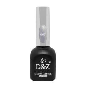 Esmalte Em Gel – White Shine – 067 – D&Z