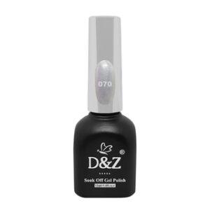 Esmalte Em Gel – White Shine – 070 – D&Z
