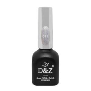 Esmalte Em Gel – White Shine – 071 – D&Z