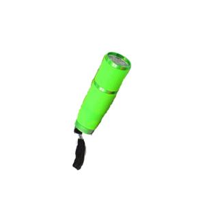 Lanterna LED UV – Emborrachada – Verde