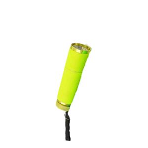 Lanterna LED UV – Emborrachada – Amarelo