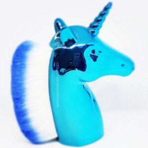 Pincel Espanador De Pó Unicórnio – Azul