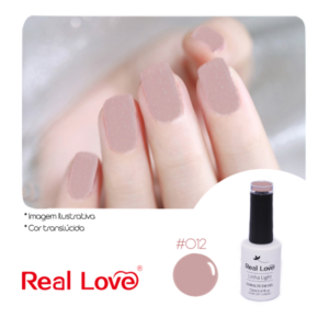 Esmalte Em Gel – Real Love – 012