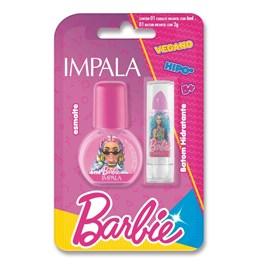 Esmalte Cremoso – Autentica 6 Ml + Batom Rosa Pink 1 G – Impala / Barbie