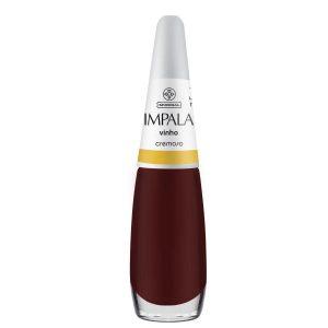 Esmalte Cremoso – Vinho – 7,5ml – Impala